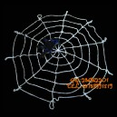 Supply Halloween Ghost Ghost House Dress Up Cotton Spider Web White Plush Spider Web with Spider