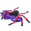 Supply Halloween Haunted House Ktv Scene Decoration Plush Big Spider Color Spider Model