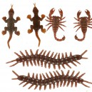 Supply Fool Day Tricky Toys Simulated Insect Animal Model Centipede Gecko Scorpion Halloween Accessories