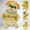 Supply European Home Animal Ornament Resin Simulation Pet Dog Ornaments Puppy Save Money Jar Holiday Gift