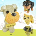 Supply Simulated Puppy Animal World Dog Resin Crafts Home Bedroom Living Room Decoration Dog Gift