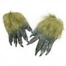 Halloween Performance Dress Up Ghost Festival Gloves Terrorist Terrorism Scary Wolves Gloves