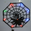 Supply Halloween Ghost Festival Supplies Color Luminescent Spider Webs Ravens Spider Webs Diameter
