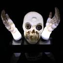 Supply Halloween Ghost Festival Lighting Horror Electric Glowing Sound Skull Skull Head Skull Light Ghost Head and Hand