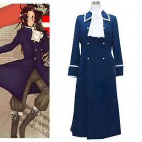 Axis Powers Hetalia Austria Cool Halloween Cosplay Costume
