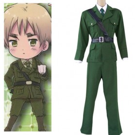 Axis Powers Hetalia England ( United Kingdom ) Halloween Cosplay Costume