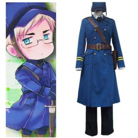 Hetalia Axis Powers Sweden Berwald Oxenstierna Halloween Cosplay Costume