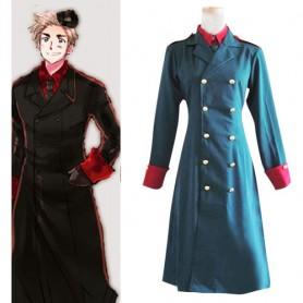 Axis Powers Denmark Halloween Cosplay Costume