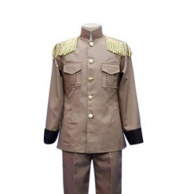 Axis Powers Latvia Galante Halloween Cosplay Costume