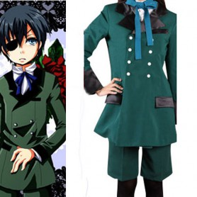 Black Butler Cool Halloween Cosplay Costume