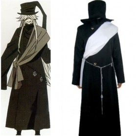 Black Butler Undertaker Halloween Cosplay Costume