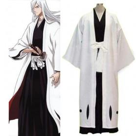 Bleach 13th Division Captain Ukitake Juushiro Men's cosplay