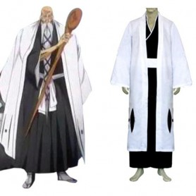 Bleach 1st Division Captain Halloween Cosplay
