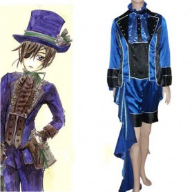 Cheap Black Butler Kuroshitsuji Ciel Phantomhive Halloween Cosplay Costume