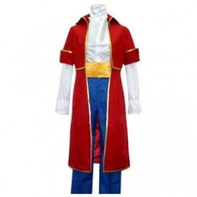 Hetalia Axis Powers Austria Roderich Red Costume