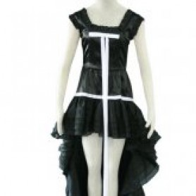 Chobits Chi Black Dress Halloween Cosplay Costume
