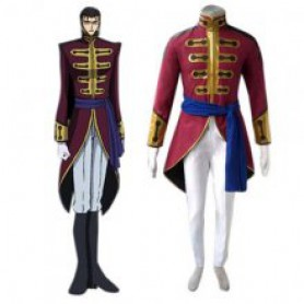 Code Geass Britannia Halloween Cosplay Costume
