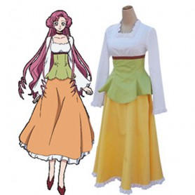 Code Geass Lelouch of the Rebellion Euphemia Casual Halloween Cosplay