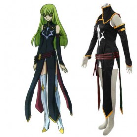 Code Geass R2 C.C Halloween Cosplay Costume