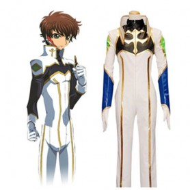 Code Geass Suzaku Halloween Cosplay Costume