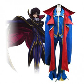 Code Geass Zero Halloween Cosplay Costume