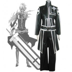 D.Gray Man Allen Walker Halloween Cosplay Costume