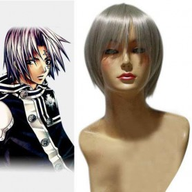 D.Gray Man Allen Walker Halloween Cosplay Wig