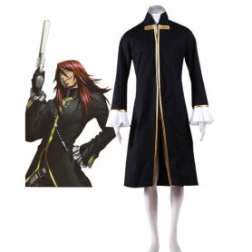 D.Gray Man Cross Maria Halloween Cosplay Costume