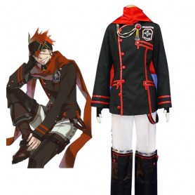 D.Gray Man Lavi Halloween Cosplay Costume