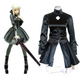 Fate Hollow Ataraxia Saber Halloween Cosplay Costume