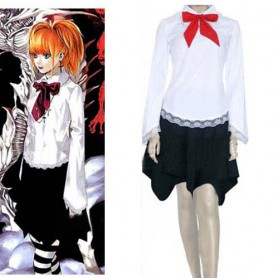 Suitable Death Note Amane Misa Halloween Cosplay Costume