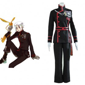 Unusual D.Gray Man Allen Walker Halloween Cosplay Costume