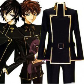 Unusual Japanese School Uniform Code Geass Halloween Cosplay Costume
