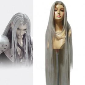 Final Fantasy Sephiroth Halloween Cosplay Wig
