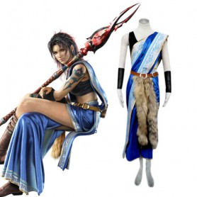 Final Fantasy XIII Oerba Yun Fang Cosplay Costume - Halloween