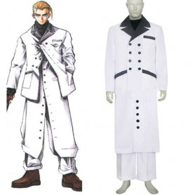Top Perfect Superior Superior Final Fantasy VII Rufus Shinra Halloween Cosplay Costume