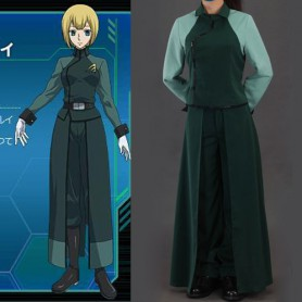 Gundam 00 A-LAWS Woman's Halloween Cosplay Costume