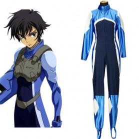 Gundam 00 Setsuna F Seiei Pilot Suits Halloween Cosplay Costume