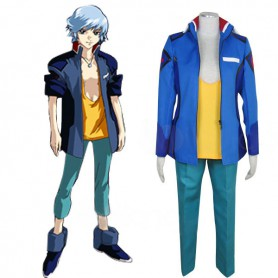 Gundam Seed Destiny Earth Alliance Male Uniform Halloween Cosplay Costume