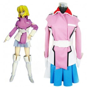 Gundam Seed Destiny Stella Loussier Halloween Cosplay Uniform