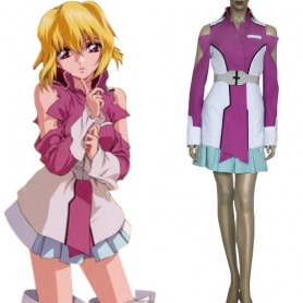 Gundam Seed Destiny Stellar Louisser Military Uniform Halloween Cosplay