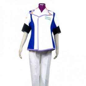 Gundam Seed Mu La Flaga Halloween Cosplay Costume