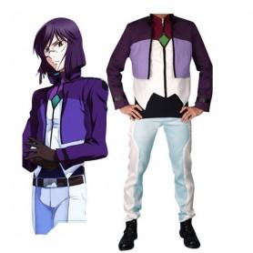 Gundam Tieria Erde Halloween Cosplay Costume
