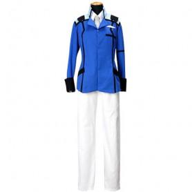 Mobile Suit Gundam 00 Union Uniform Halloween Cosplay Costume