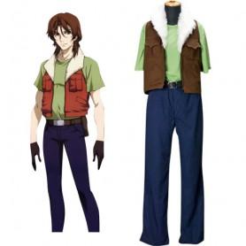 Mobile Suit Gundam 00Lockon Stratos Halloween Cosplay Costume