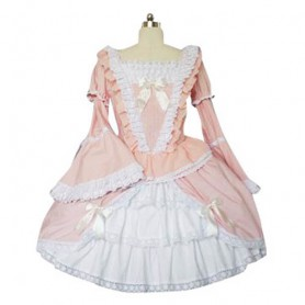 Bell Sleeves Sweet Lolita Halloween Cosplay Dress