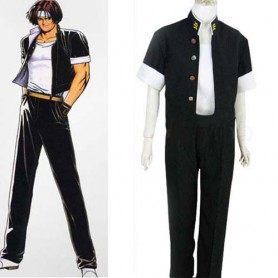King of Fighter 97 Kyo Kusanagi Halloween Cosplay Costume