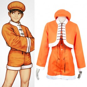 King of Fighter 99 Bao Halloween Cosplay Costume