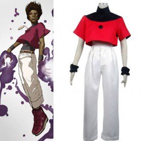King of Fighters Chris Halloween Cosplay Costume