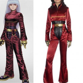 King of Fighters Kula Diamond Halloween Cosplay Costume